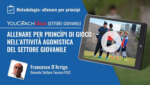 Copertina Francesco D'Arrigo YouCoachClass Webinar