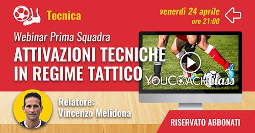 YouCoachClass webinar aspetto tencico Vincenzo Melidona