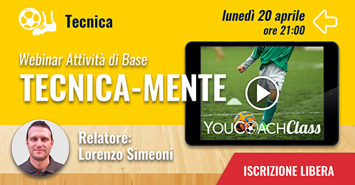 YouCoachClass webinar aspetto tencico Lorenzo Simeoni