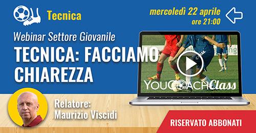 YouCoachClass webinar aspetto tencico Maurizio Viscidi