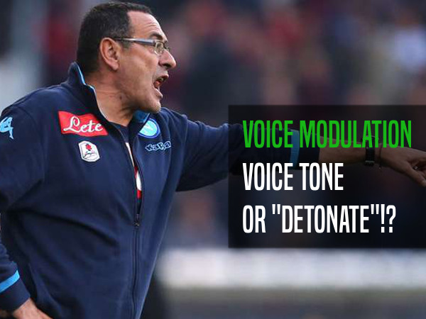 The tone of voice