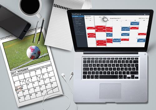 Il calendario dei tuoi allenamenti sempre a portata di click