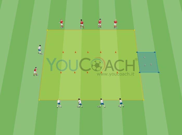 Paint Ball - Guida palla e dribbling
