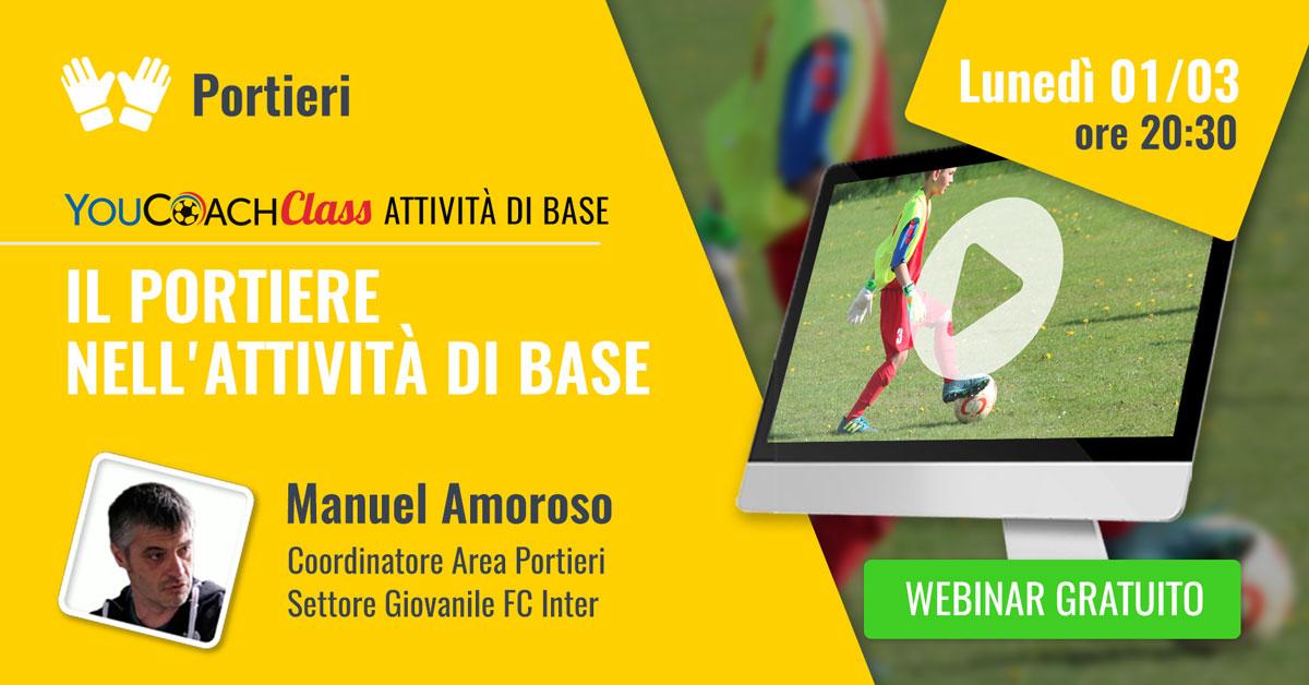 Amoroso FC Inter webinar gratuito attività di base