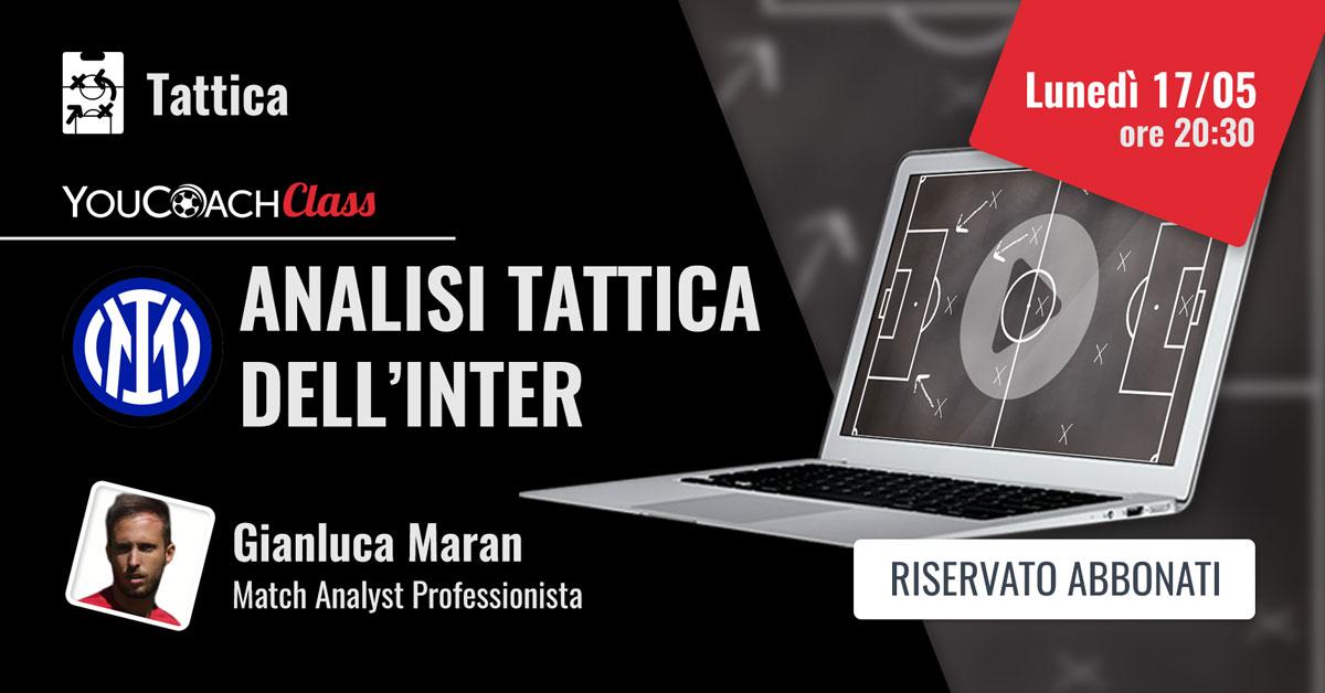 YouCoachClass Maran analisi tattica dell'Inter