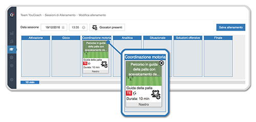 Configuratore YouCoachApp schede esercizi