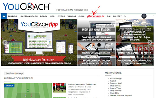 Home Page YouCoach