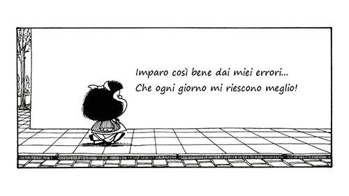 Mafalda citazione errore sbaglio