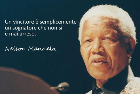 Nelson Mandela invictus sogno