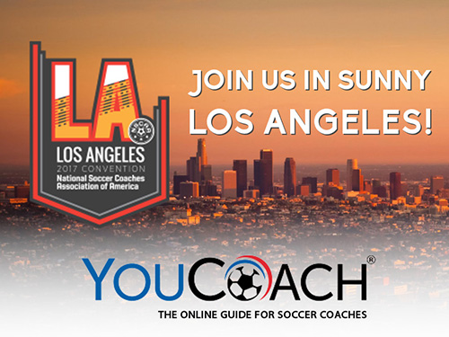 YouCoach is attending the NSCAA Convention in Los Angeles!