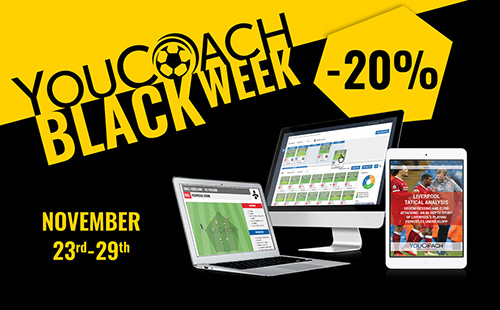 Black Week YouCoach discounts soccer products