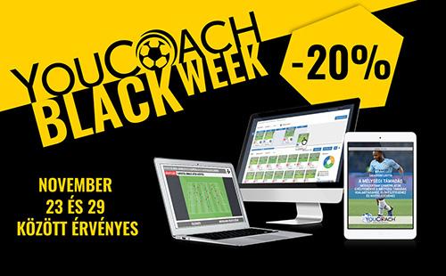 A YouCoach Fekete hete 7 napig amelyeket nem tudsz visszautasítani