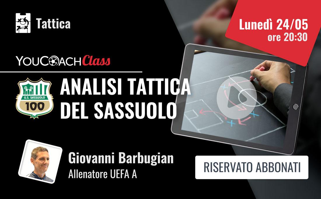 YouCoachClass - Analisi tattica del Sassuolo