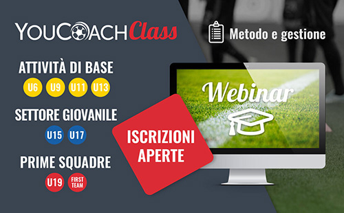 YouCoachClass webinar settembre 2020 Metodo e Gestione