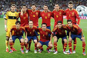 Spagna Euro 2012