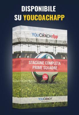 Stagione completa YouCoach per Prima Squadra disponibile su YouCoachApp