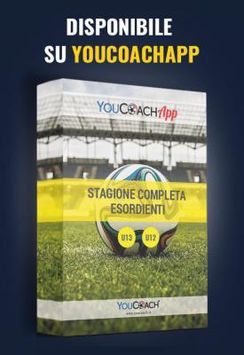 Stagione completa esordienti disponibile su YouCoachApp