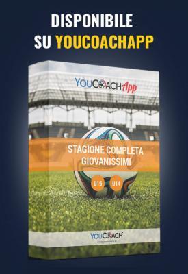 Stagione completa YouCoach per giovanissimi disponibile su YouCoachApp