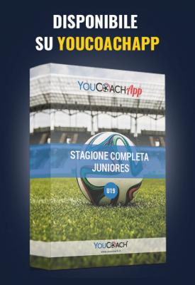 Stagione completa YouCoach per Juniores disponibile su YouCoachApp