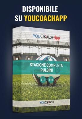 Stagione completa YouCoach per Pulcini disponibile su YouCoachApp