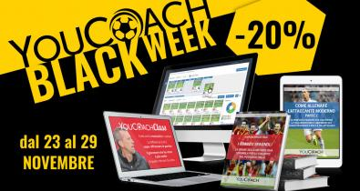YouCoach Black Week sconti 20% Black Friday