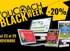 YouCoach Black Week sconti 20% Black Friday