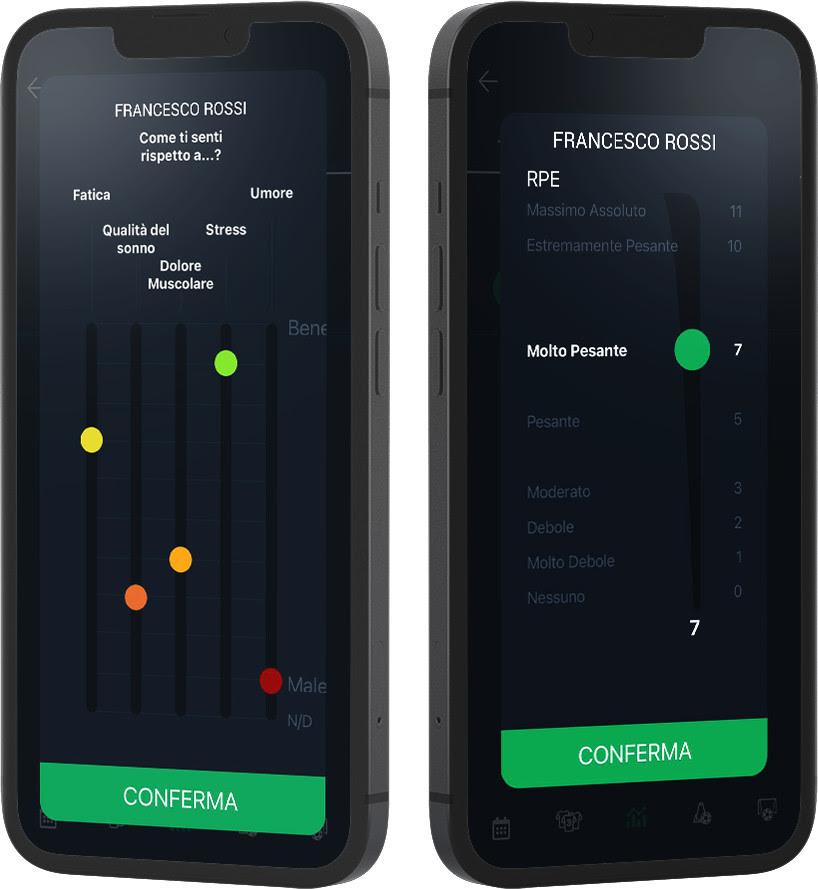 8 funzionalità YouCoachApp: tlm e hooper i dettagli