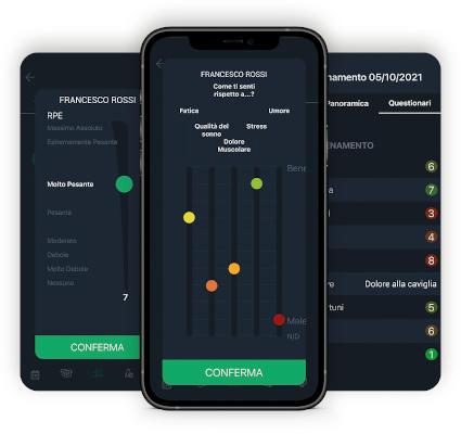 8 funzionalità YouCoachApp: training load e hooper
