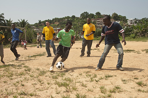 """why soccer is the best sport essay Soccer: the world's greatest sport essay - """"some people believe football is a  matter of life and death i'm very disappointed with that attitude i can assure you it ."""