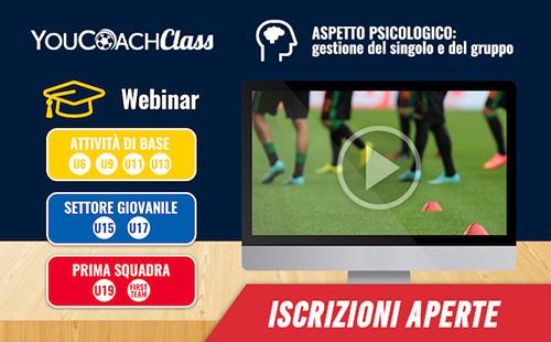 YouCoachClass webinar area psicologica